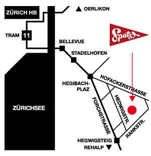 Spatz AG Lageplan